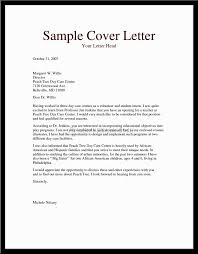 Childcare Resume Cover Letter Cover Letter For Daycare Worker No Experience Gallery Cover 73