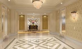 floor lighting hall. Elevator Hall Flooring Lighting Design Rendering Floor E