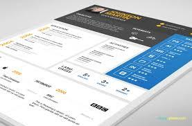 simple resume template psd resume templates