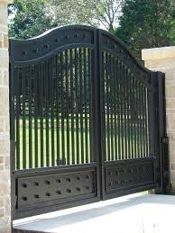 Competity Beautiful Metal Fence Grill Gate Design For House Buy
