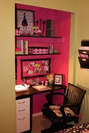 office in closet ideas. Closet Turned Into Desk / Office. For That Extra Closet. I Like The Idea Of Painting \ Office In Ideas
