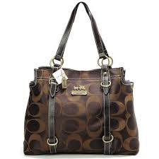 Coach Logo Monogram Large Coffee Totes BMZ