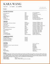 99 Sample Child Acting Resume No Experience Wwwauto Albuminfo