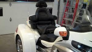 honda goldwing trike passenger head rest installation by cool honda goldwing trike passenger head rest installation by cool custom trikes