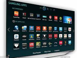 samsung smart tv. samsung smart tv users have complained their sets started showing a pepsi advert while watching tv