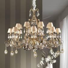 large ornate swarovski crystal chandelier