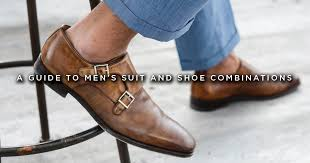 How To Combine Suit And Shoe Colors Charts