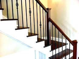 Wrought iron stair railing Metal Iron Stair Banister Metal Stair Spindles White Wrought Iron Stair Railing White Stair Railing With Iron Spindles Cherry Stair Iron Stair Balusters Install Travelinsurancedotaucom Iron Stair Banister Metal Stair Spindles White Wrought Iron Stair