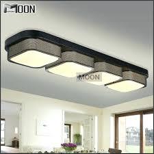 kitchen ceiling lights real rectangle modern ceiling lights bedroom shade flush mounted acrylic led lamp kitchen ceiling lights