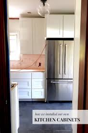 How Hard Is It To Install Kitchen Cabinets The Exciting Part Of