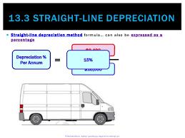 Straight Line Depreciation Equation 13 3 Straight Line Depreciation