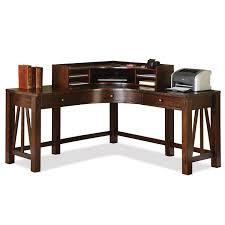 riverside 33532 33524 castlewood curved corner desk and hutch