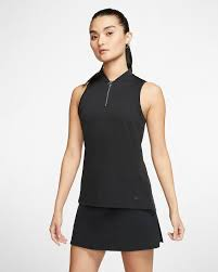 Nike Dri Fit Women S Sleeveless Golf Polo