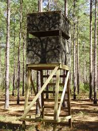 awesome deer stand tower