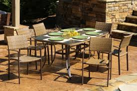 maracay 7 piece dining set rectangular dining table 6 chairs