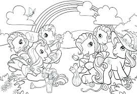 My Little Pony Pictures To Color Coloring My Little Pony Printable