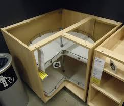 corner kitchen furniture. Modren Corner Kitchen Cabinet Corner Design Showing Turntable Inside Intended Furniture E