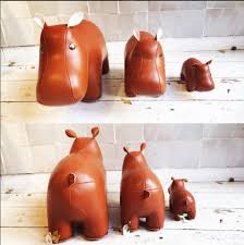 bookend hippo  tan  maisonnl concept store