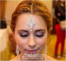 stani bridal makeup southern california marina del rey indian south asian bride sandeep artist angela tam