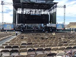 Gorge Amphitheater Seating Chart Gorge Amphitheatre Section 203 Rateyourseats Com