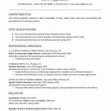 Law School Resume Template Word Elegant Law School Student Resume
