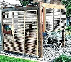 outdoor privacy screens for decks screen ideas deck retractabl