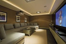 movie theater living room. living room movie theater home contemporary with gray sofa