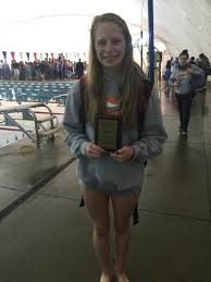 GRACE Christian CoEd Varsity Swimming Winter 2020-2021 ANA JOHNSON - EPIC  FEMALE INDIVIDUAL MEET CHAMPION