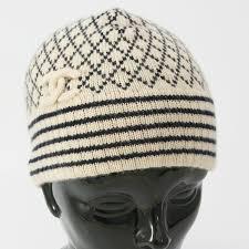 chanel hat. chanel chanel knitted hat cap beige khaki