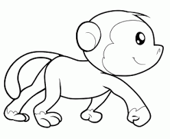 Enjoy these free monkeys coloring pages to color, paint or crafty educational projects for young children, preschool, kindergarten and early elementary. Monkeys Free Printable Coloring Pages For Kids