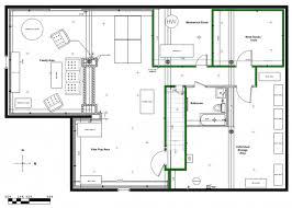Basement Layout Design Set Custom Design Ideas