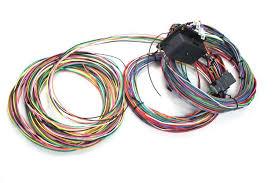 26 circuit weatherproof car wiring harness customizable