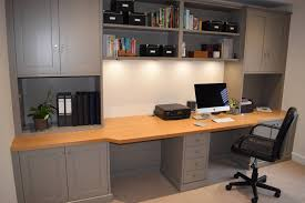home office study furniture. Fitted Home Office Furniture In Widely Used Study (Gallery 7 Of M