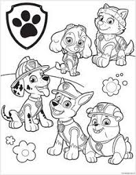 Free printable paw patrol worksheets for kids to connect the dots or match dot to dot and learn. Paw Patrol 39 Coloring Page Paw Patrol Coloring Pages Paw Patrol Coloring Cartoon Coloring Pages