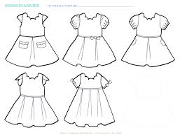 Design And Sew Your Own Clothes Brainstorming Your Dress With A Design Sheet Free Download
