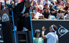 Fognini contro l'arbitro degli Australian Open 2020 di ...