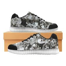 Light Up Creepers Creeper Z Zombies Light Up Casual Womens Shoes Shoes