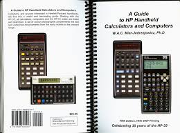 a guide to hp handheld calculators and computers 5th edition
