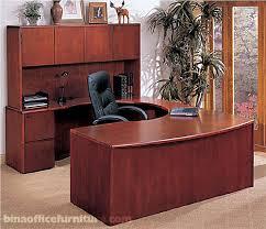 office desk wood. Wooden Office Desk Bina Discount Furniture U Shape Wood Suite Long