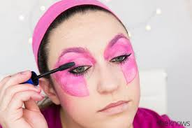 jem halloween makeup tutorial step 10