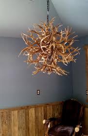 tumbleweed antler chandelier