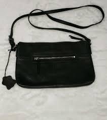 new margot new york cross leather bag nwt