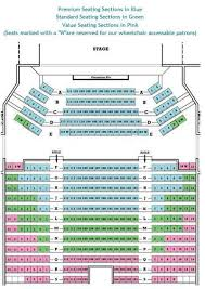State Theater Seating Chart Ocean State Theatre Seating Chart Theatre In Boston