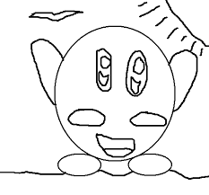 Finding kirby coloring pages for your kids. Kirby Coloring Page Coloringcrew Com