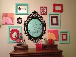 Image result for empty frames wall different colors