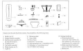 ceiling fan diagram parts harbor breeze switch housing cap best accessories