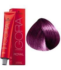 Igora Royal 6 99 Dark Blond Purple Extra 60ml