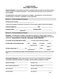 florida kidcare self employment form