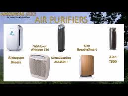 Austin Air Comparison Chart Alexapure Germguardian Alen Air Purifier Reviews With