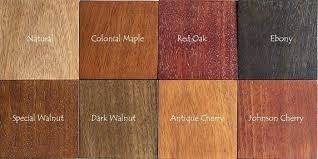 Mahogany Stain Color Chart Mahogany Stain Color Chart Brazilian Finishing Wood